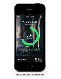Mobile Fat Loss App