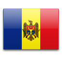 Moldova, Republic of Flag