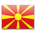 North Macedonia Flag