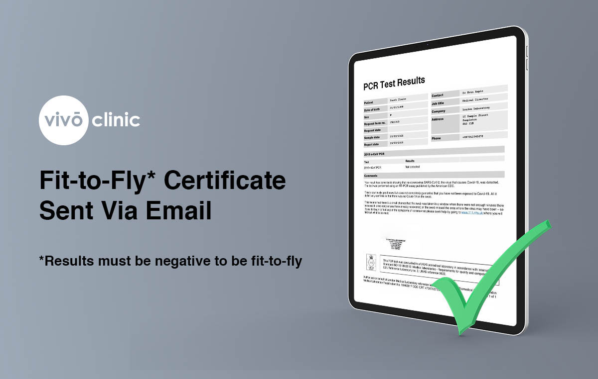 Fit to Fly Certificate