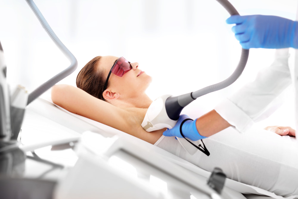 Laser Hair Removal Applicator